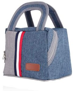 Insulated Lunch Bag Box For Men Women Kids Large Capacity Foldable Tote Cooler Office School Picnic By Asanmu