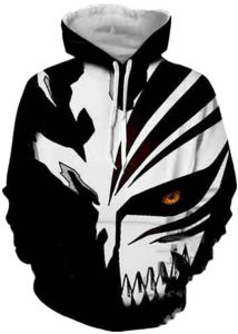460b5ba46d24 Anime BLEACH 3d Digital Print Sweater Hooded Hoodie