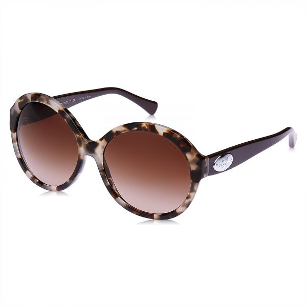 257bfaa09a Coach Round Sunglasses for Women - Brown Lens