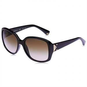 f54c00eb737 Emporio Armani Butterfly Sunglasses for Women - Brown Lens
