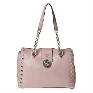 Guess Shoulder Bag For Women Light Pink : Buy Online at