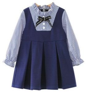 High Quality Girl Fresh Dress For 3 5 Years Old Summer/autumn