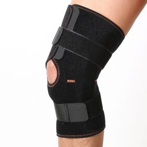 0d206ee7bc Hinged Knee Brace - Adjustable Open Patella Support for Swollen ACL,  Tendon, Ligament and Meniscus Injuries - Athletic Compression for Running  and Arthritic ...