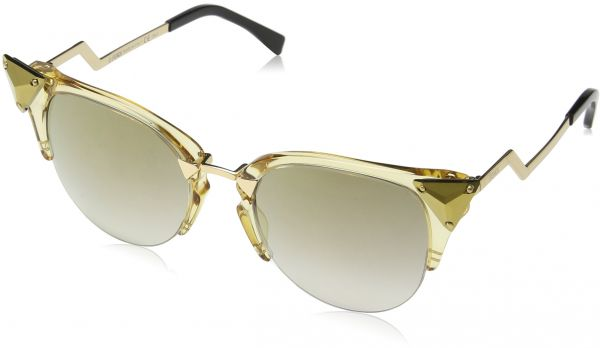 Fendi Cat Eye Sunglasses for Women - Beige Lens
