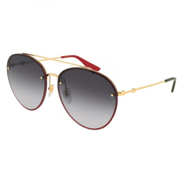 3dd62d90688 Gucci Aviator Sunglasses for Women - Grey Lens
