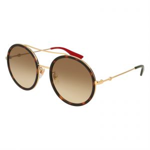 facb6796321 Gucci Round Sunglasses for Women - Brown Lens