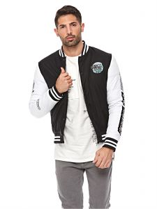 68b1c4f1d66a Sale on bomber converse style jacket black