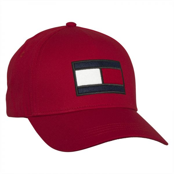 Tommy Hilfiger Baseball Cap for Men - Red  9f851e78294