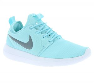87cc303d6a29d Nike Roshe Two Sports Sneakers For Women - Light Blue   Grey