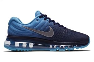 finest selection 95a5c 5c30e Nike Air Max 2017 Bg Sports Sneakers For Boys - Navy & Blue