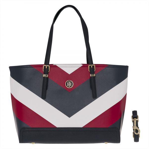 Tommy Hilfiger Tote Bag For Women Multi Color