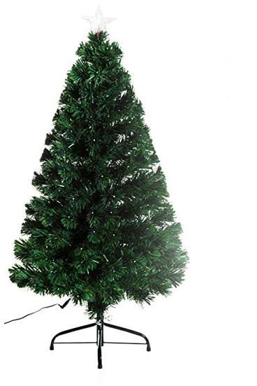 6e0d03c7af26 1.8CM Artificial Holiday Fiber Optic Light Up Christmas Tree - Green New  Year s Christmas Tree Decorations Creative Christmas Tree Decorations