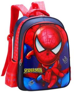 ff4d9ade9557 Waterproof Spiderman Children Backpacks Baby School Bags For Boys Cartoon  Backpack for Kids