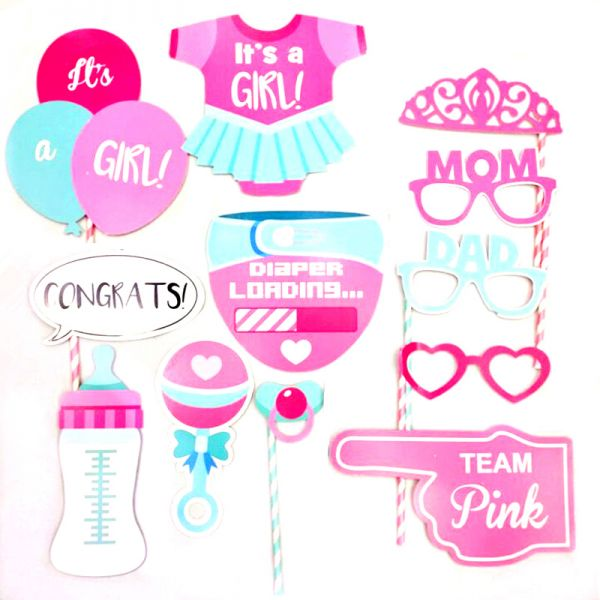Funny DIY Baby Cloth Glasses Nipple Paper Photo Props Show Decorative Happy Birthday Party Kids Favors
