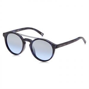73ca06df401 Marc Jacobs Round Sunglasses for Unisex - Silver   Gray Lens