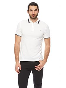 b01f08ac400 Buy fred perry yellow cotton shirt neck polo for men 10649905 | Fred ...