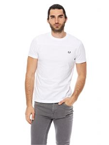 64637fddb8 Fred Perry Tonal Panel T-Shirts For Men - White
