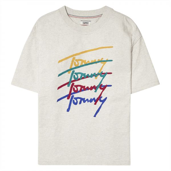 63e4da957 Tommy Hilfiger T-Shirt for Women - Grey