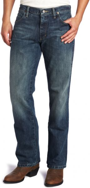 78e13b19446a Wrangler Men s Retro Slim Fit Boot Cut Jean