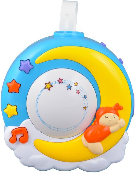 Baby Night Light Projector With Music Nursery Lamp For Crib With