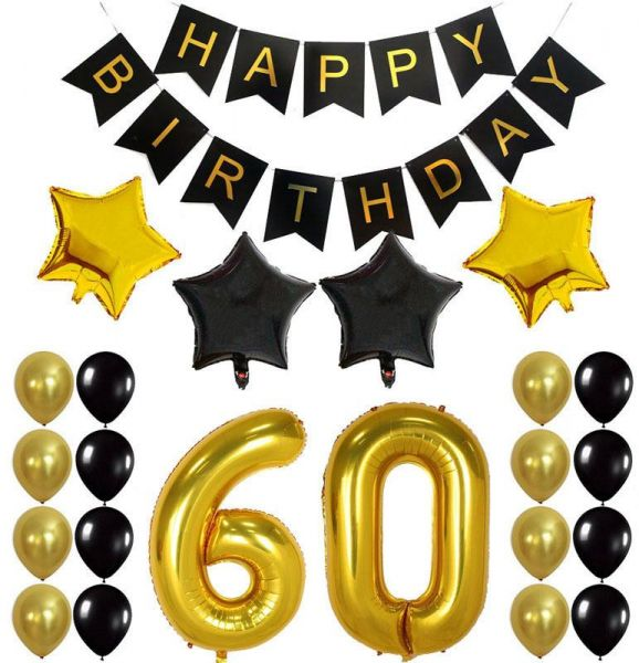 60th Birthday Decorations Gifts For Men Women Create Unique