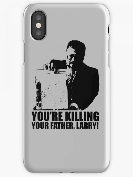 Big Lebowski Walter You're Killing Your Father, Larry Tshirt Phone Case for  iPhone X