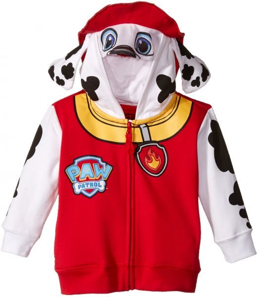 90d79b909927 Nickelodeon Little Boys  Paw Patrol Marshall Toddler Costume Hoodie ...