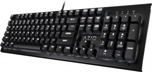 f4e68feb8b1 Azio Mk Hue Black USB Backlit Mechanical Keyboard (Outemu Brown) (MK-HUE-BK)