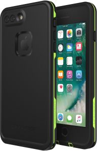 Lifeproof FR  x112  SERIES Waterproof Case for iPhone 8 Plus   7 Plus  (ONLY) - Retail Packaging - NIGHT LITE (BLACK LIME) 45e56b92deaba
