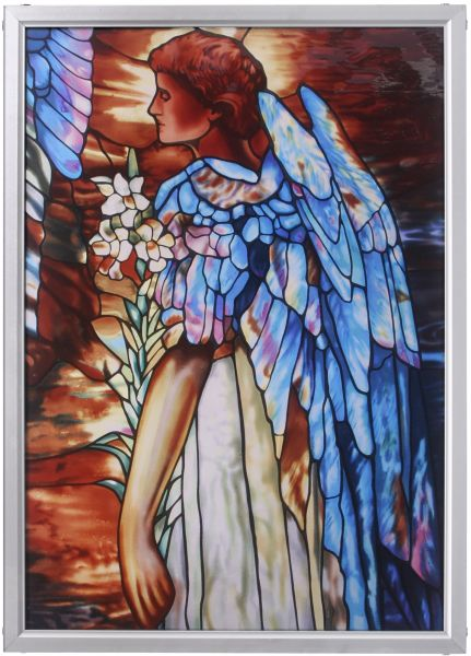 Souq Design Toscano Stained Glass Panel The Angel Of Light