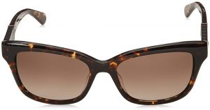 b8a513c9a89 Kate Spade Wayfarer Sunglasses for Women - Brown Lens