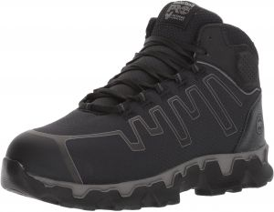 bbe9d9bc47b Timberland PRO Men s Powertrain Sport Mid Alloy Toe EH Industrial and  Construction Shoe