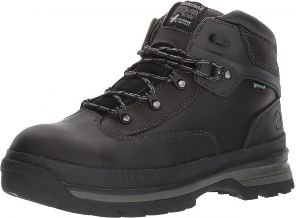 eb8d970e4ab Timberland PRO Men's Euro Hiker Alloy Toe Waterproof Industrial and  Construction Shoe, Black Full Grain Leather, 11 W US