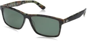 bc9411098642d Lacoste Men s L705sp Polarized Rectangular Sunglasses