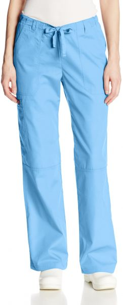 b43f67b922c6 Cherokee Women's Workwear Scrubs Low Rise Draw String Cargo Pant ...