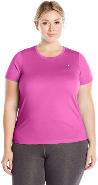151dcf85 Champion Women's Plus Size Double Dry Tee, Vivid Fuchsia Heather, 2X. by  Champion, Sportswear - 8 ratings