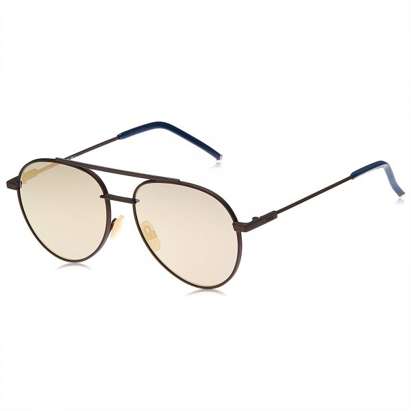 d51dfe2e073 Fendi aviator Sunglasses for Women - Brown lens