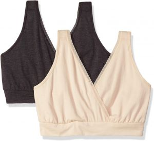 5f99b8dfca Playtex Women s Nursing Pullover Sleep Bra 2-Pack