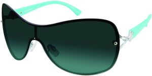 18317f8ce9fb Southpole Women s 451sp-Slvaq Shield Sunglasses