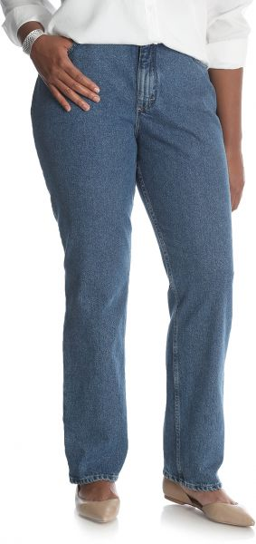 cd511d0d3b9 Riders by Lee Indigo Women s Tall Plus Size Camden Relaxed Fit 5 ...