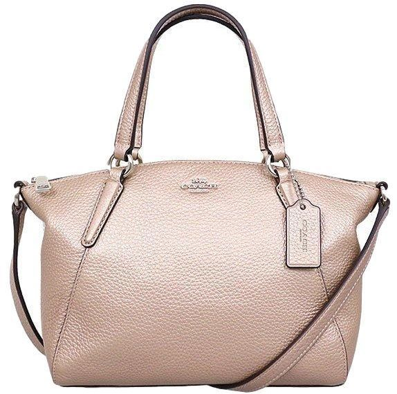 ... Pebble Leather Mini Kelsey Rose Gold Crossbody Satchel Bag. by Coach,  Handbags - Be the first to rate this product. 42 % off 1b8db5d60d