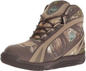 eb6e8693cb4a36 Muck Pursuit Shadow Rubber Lightweight Insulated Scent-Masking Lace-up Men s  Hunting Boots