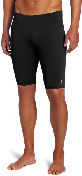 a7e72b997f556 TYR Men s Solid Durafast Jammer Swim Suit (Black