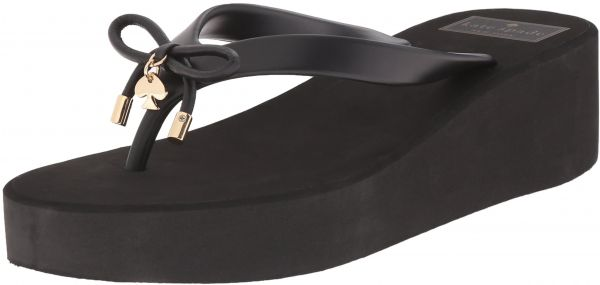 e37759bed171 Kate Spade New York Women s Rhett Wedge Flip Flops