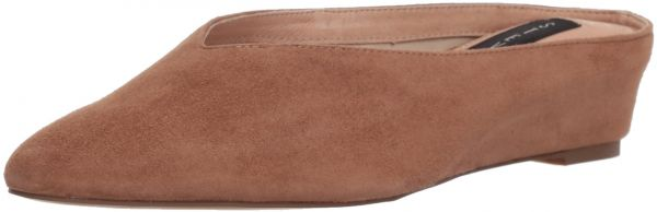 STEVEN by Steve Madden Women's Aries Mule, Tan Suede, 7 5 M US