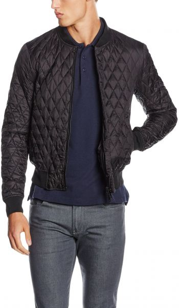 36be5c8a1e7e ARMANI JEANS Men s Quilted Bomber Jacket
