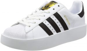 on sale cdccc d9f98 adidas Superstar Bold Shoes for Women, White - BA7666