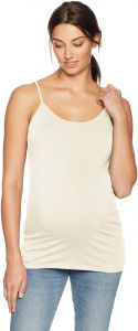 6221705089e72 Motherhood Maternity Women's Scoop Neck Cami Tank Top, Oatmeal ...