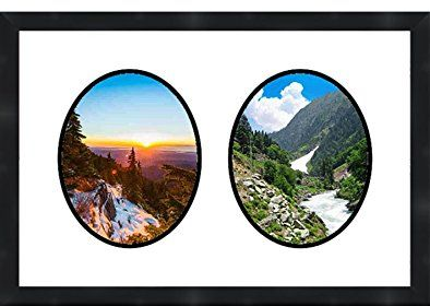 Frames By Mail Double Oval Opening Collage Frame For 8 X 10 Photo
