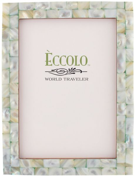 Eccolo World Traveler Naturals Collection Mother Of Pearl Frame